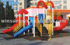 plastic slide for amusement park