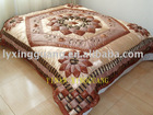 pu leather bed cover sample