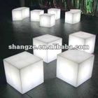 Plastic Rechargeable Cube Lamp 20cm SZ-G2020