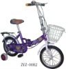 children fold up bicycle ZY0082