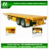 2 axles Container Platform Semi Trailer