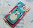 For cellphone case with beautiful silicone cover and soft handle&high quality