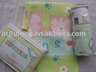 100% cotton printed blanket