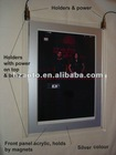 double side sinle side shopping special and bank use crystal lighting panel