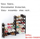 Mini size shoe rack with wooden stand for saving space