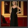 Comfortable Spaghetti Strap Chiffon Long Pregnant Women Dresses HS1043