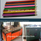 newspaper pencil making machine