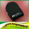 Neoprene laptop mouse bag