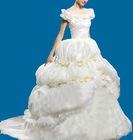 cap sleeve wedding garment