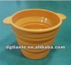 Silicone Folder Cup With Ears/Silicone Callapsing Bowl