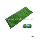 RPET sleeping bag ,green sleeping bag