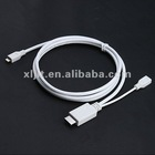 1.5M MHL HDMI Micro USB to HDMI Adapter Cable for Samsung Galaxy S II i9100 i997