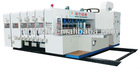 HL-B carton box automatic high speed printer slotter &rotary die cutter machine(back kick paper feeding)