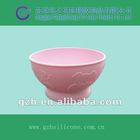 Selling silicone baby bowl