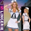 Sexy sailor navy costume with hat CT0347