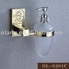 Bathroom Accessories-gold plating Soap liquid dispenser