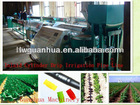round agriculture dripper irrigation pipe machinery