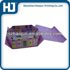 Colorfull printing handmade paper folding box