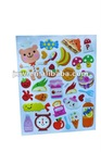 Factory price lovely sticker with delicious food and cute animal