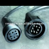 pvc rubber waterproof cable 8pin