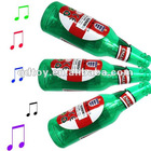 Beer bottle sport fan horn ,speaker cheering horn