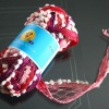 Metallic Bean mesh Yarns for Hand Knitting (LX0017)