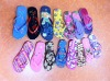 New design ladies PE slippers/flip flop/beach slippers