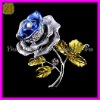 Wholesale Korean New Crystal Rose Brooches Design XZ-063