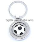 promotional swivel sports keychain