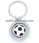 promotional swivel sports keychain