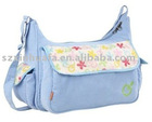 (XHF-MUMMY-003) flower printed corduroy mummy bag