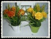 New style artificial potted flower arrangement