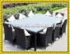 2012 FACTORY hot sale low price high quality 11pcs rattan outdoor dining sets for home and outdoor use SCTC-026