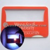 Promotional Card Magnifier with LED Light
