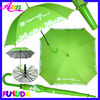 A11B green auto open UV advertising square umbrella