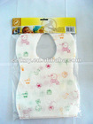 Disposable customized printed baby bibs with adorable printing