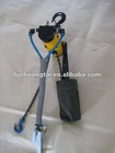 air chain hoist with suspension hook 1 ton