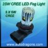 9006 25W LED fog light