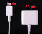 New 8 pin lightning to 30 pin adapter cable for iphone5 nano7 itouch5