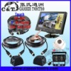 "KT9BF01 Touch 9V-40V HD Sony CCD 9"" Quad 4 Way Car Rearview System also for Truck/Bus/Trailer CCTV"