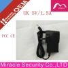 !!!!! Hot Selling UK Plug wall mount 5V 1.5A power adapter for led