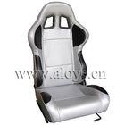 Carbon Fiber Look PVC Racing Car Seat
