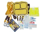 YYS12002 49-Piece Auto Emergency Kit with yellow combination bag