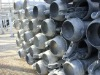 galvanized steel pipe with rotom joint ends