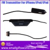 Mini Car FM Transmitter For iPod iPhone iPad With USB Port