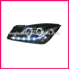 For GM Buick Regal Front Lights With Angel Eyes LED Head Lamp 2010-2011