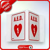AED Sign/AED Decals/AED Pins/AED Wall posters/AED Wall Signs/AED Check tags/AED CE&FDA Approved