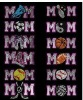 Car Decals Rhinestone sticker MOM sports series crystal car stickers ANIMAL