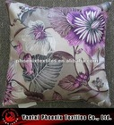 cushion cover, decorative, printed velvet fabric