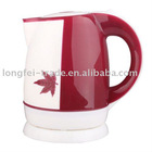 1.8L electric kettle,360 degree rotational base,high-quality non-toxic PP material